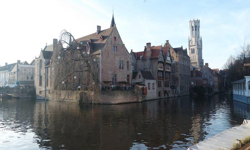 Brujas, mercadillos de Navidad en Flandes