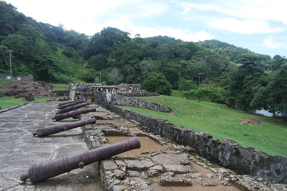 Cañones, Fuertes de Portobelo