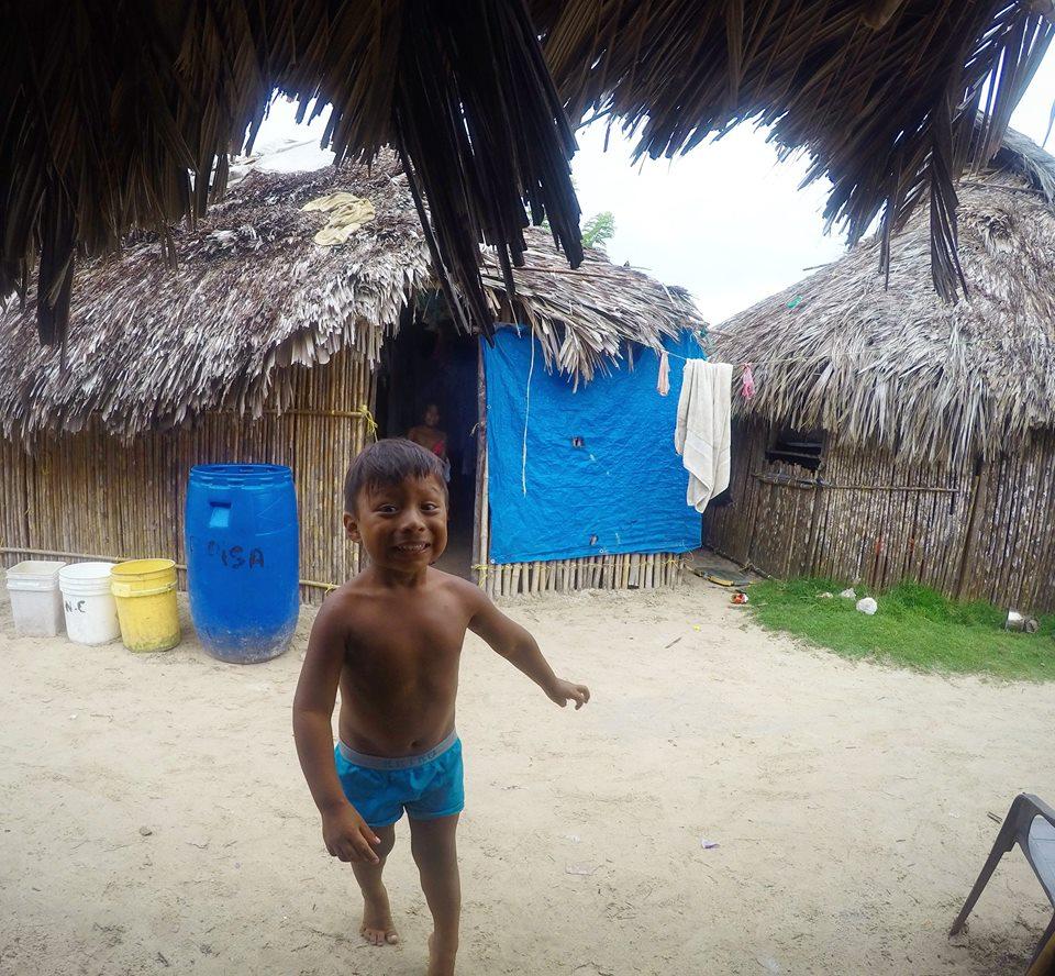 Amebé, niños Kuna, San Blas
