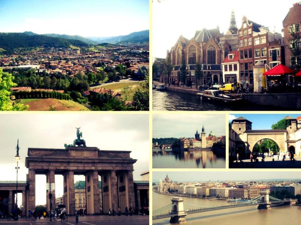 Mi primera vez viajando, Europeos Viajeros
