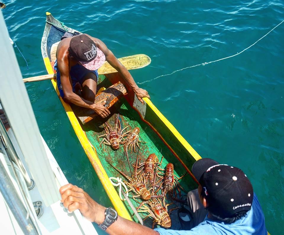 Pescadores de langosta, San Blas