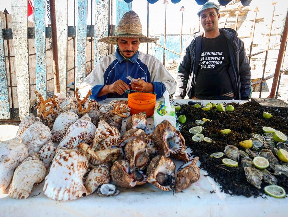 Puestos de pescado. Qué ver en Essaouira
