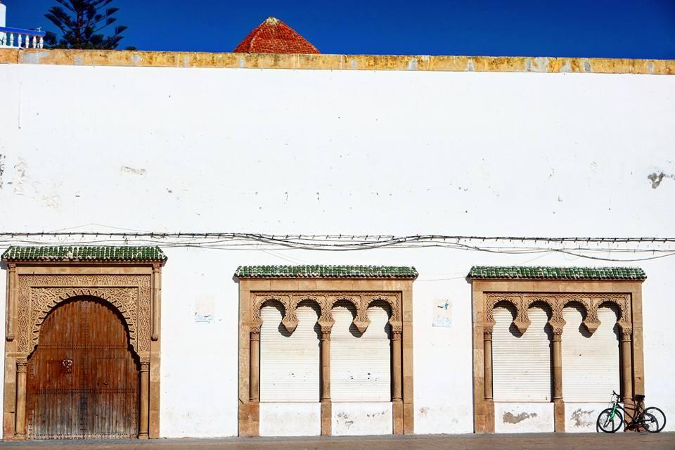 Qué ver en Essaouira: fachada de la mezquita