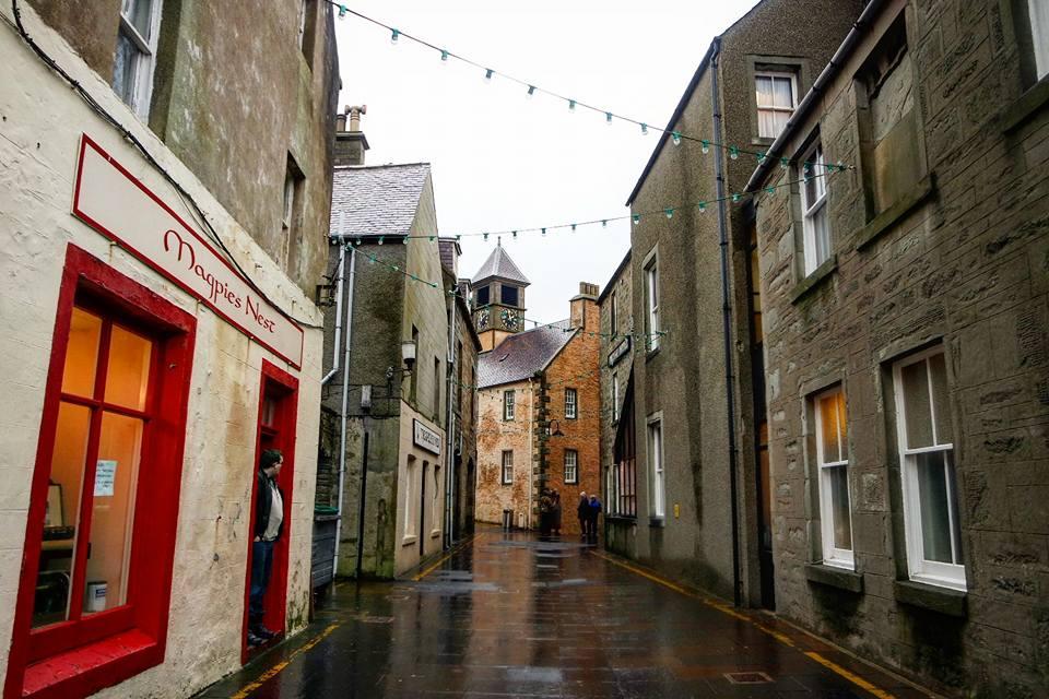 Lerwick, islas Shetland de Escocia