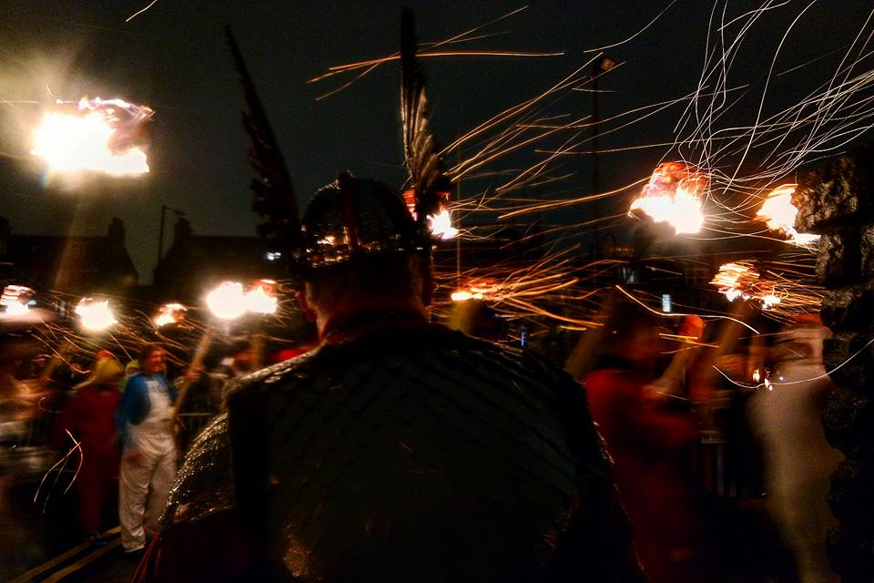 Desfile viking, Up Helly Aa