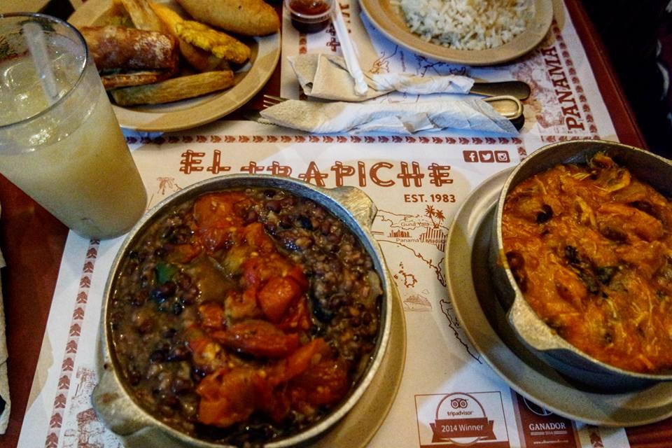 Gallo pinto y Tamal de olla, gastronomía de Panamá