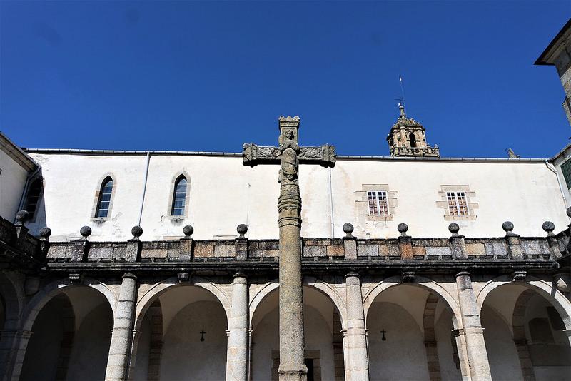 Claustro, catedral de Mondoñedo
