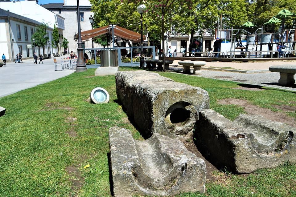 Restos de templo romano