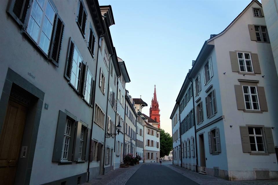 Centro histórico de Basilea, Suiza