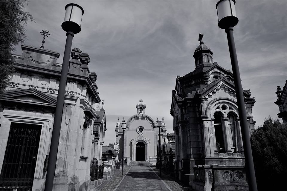 Entrada, cementerio de La Carriona, Avilés