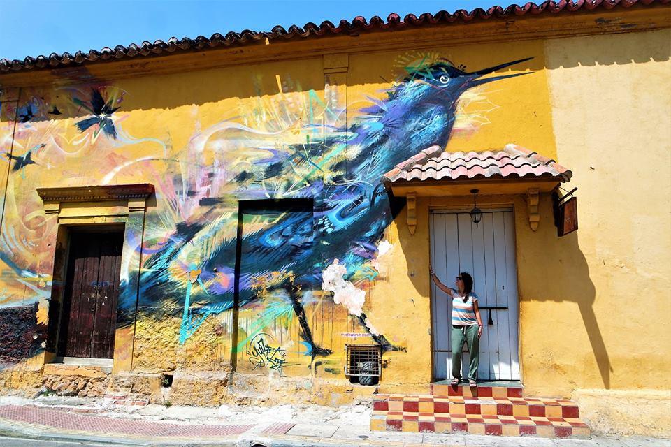 Getsemaní, Cartagena de Indias, viajar sola a Colombia