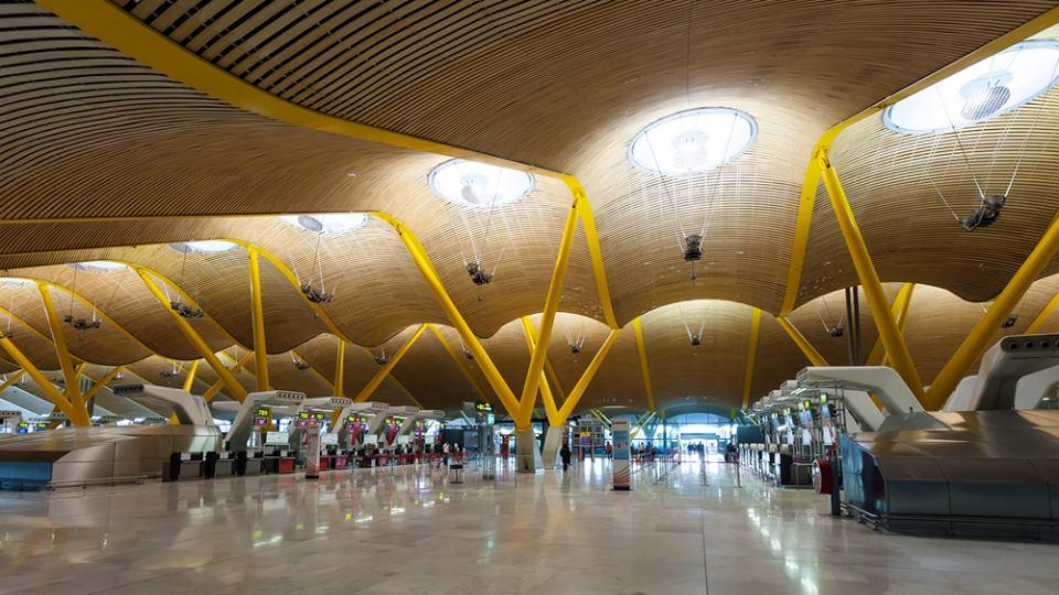 T4 Barajas, Madrid, los mejores aeropuertos del mundo