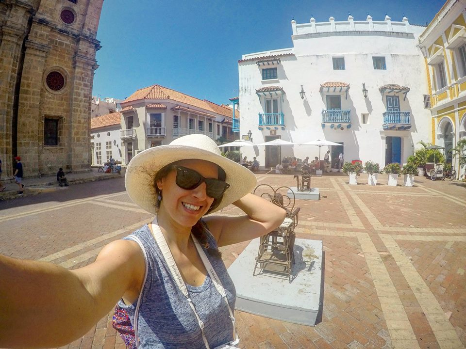 Viajar sola por Cartagena
