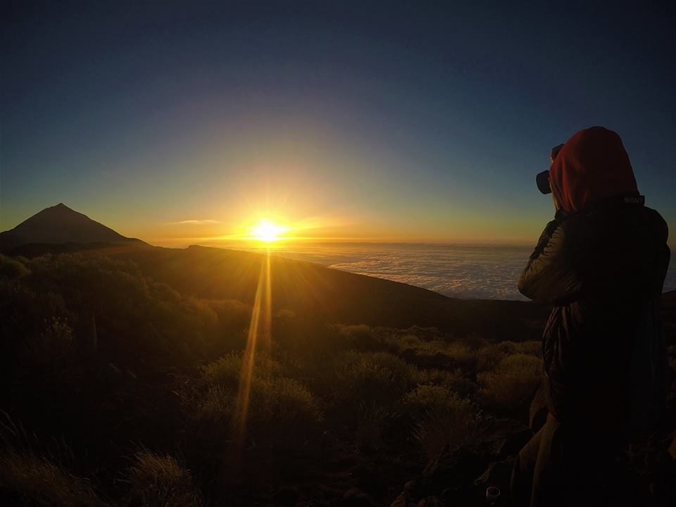 Atardecer en el Teide