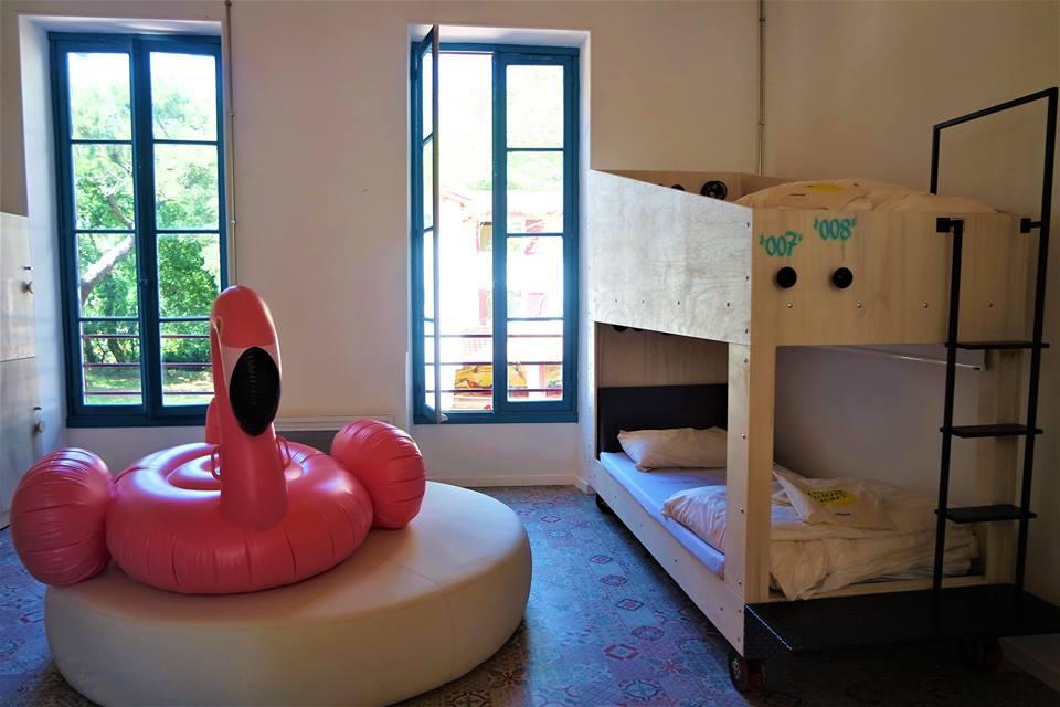 Habitación de chicas, Jo and Joe hostel en Las Landas