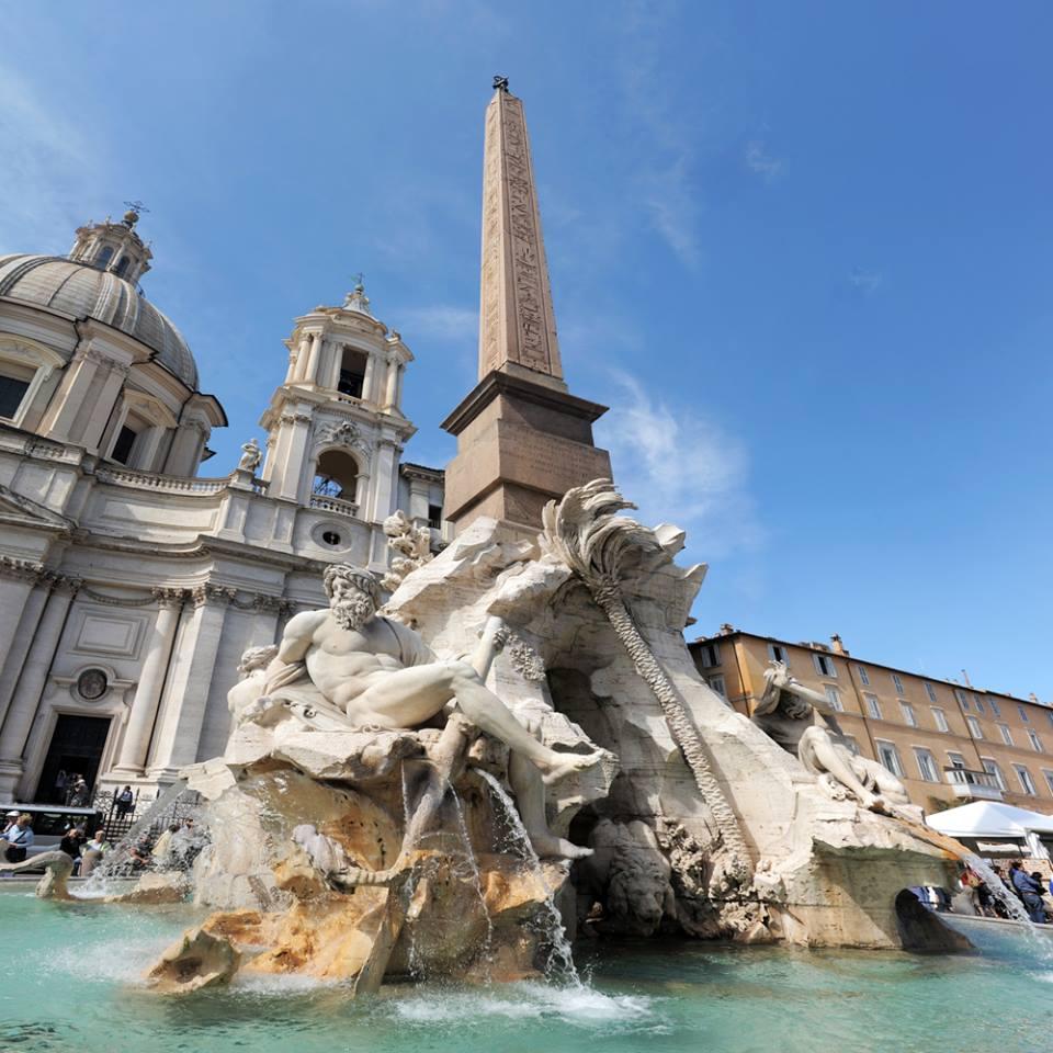 Plaza Navona en Roma