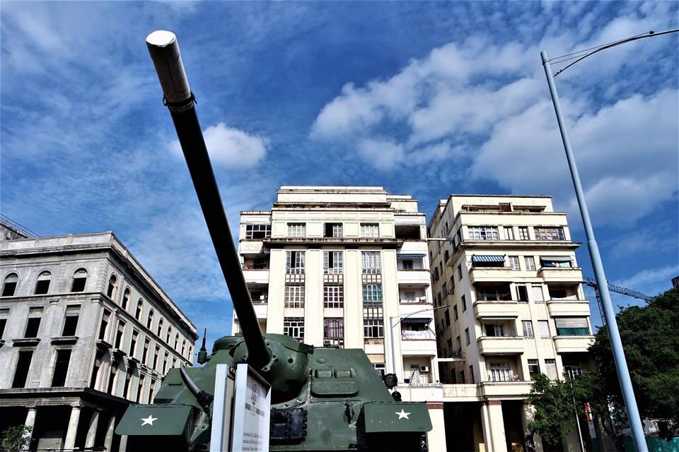Tanque de Bahía Cochinos, museo de la Revolución