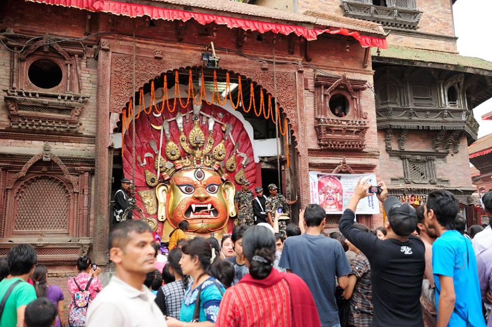 Fin del Monzón en Nepal, dios Indra