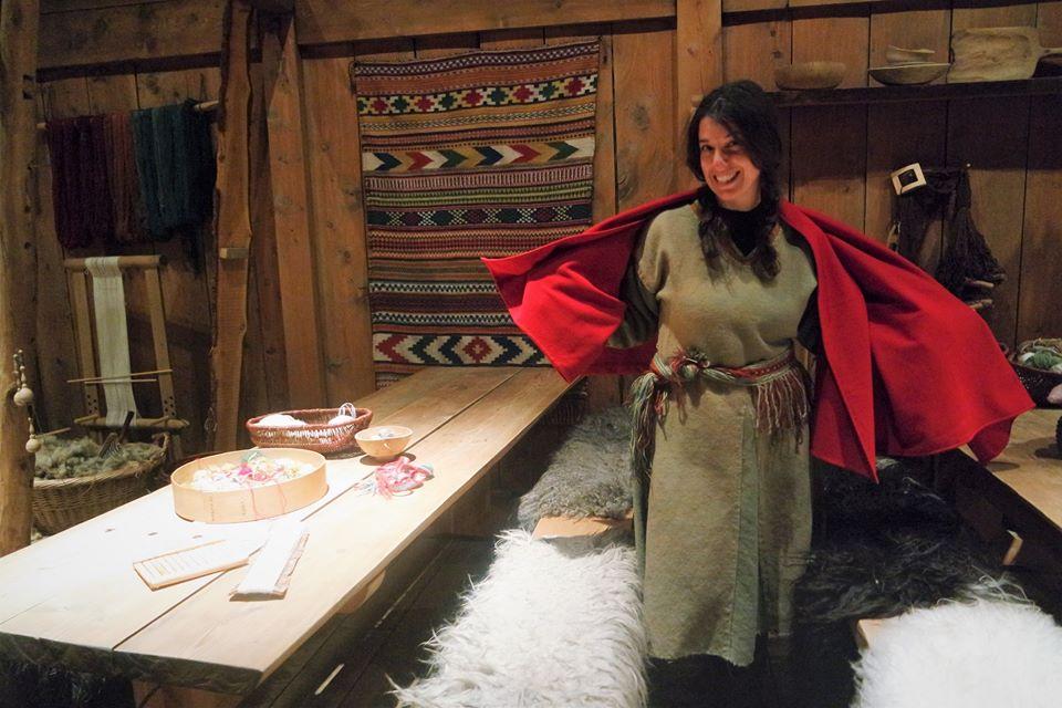 Disfraza de vikinga en el museo de Lofoten