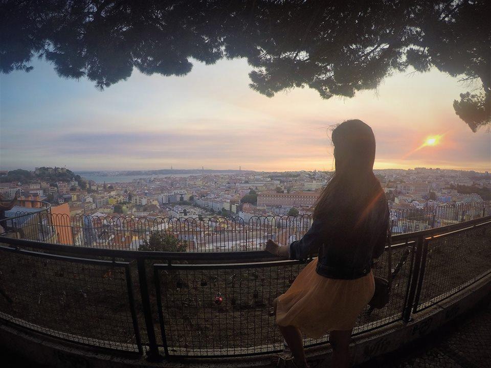 Mirador Nuestra Señora del Monte, Lisboa