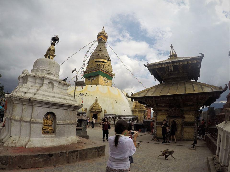 Templo de los monos, Nepal después del terremoto