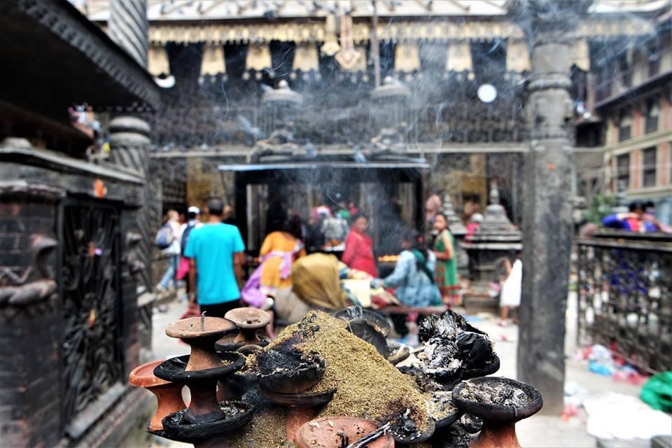 Templo hindú, Katmandú, viajar a Nepal después del terremoto