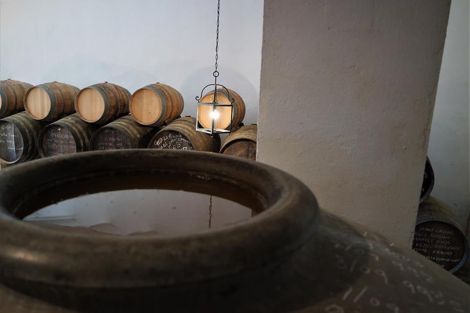 Tinajas de vino de Montilla, Lagar Blanco