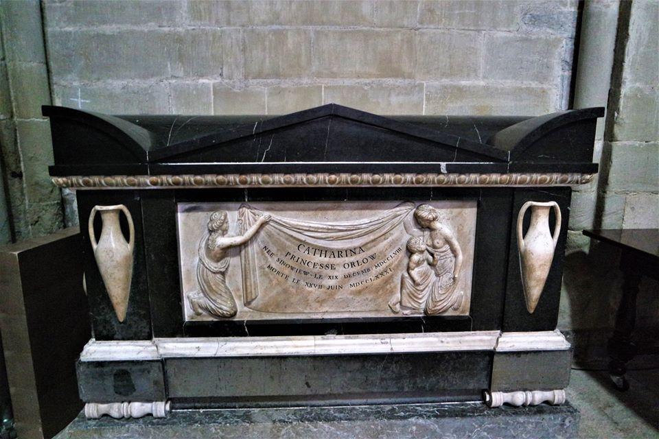 Tumba de Catharina de Orlow, Lausanne