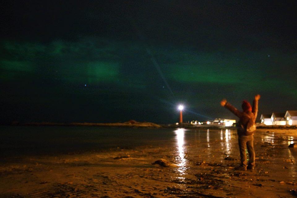 Aurora Boreal en Andenes, Noruega