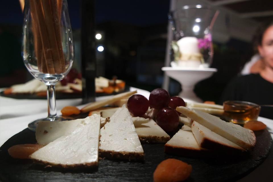 Cata de quesos en Puerto Sherry