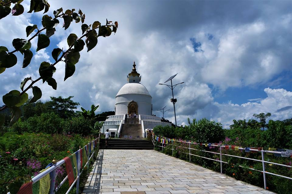 Pagoda de la Paz, Pokhara