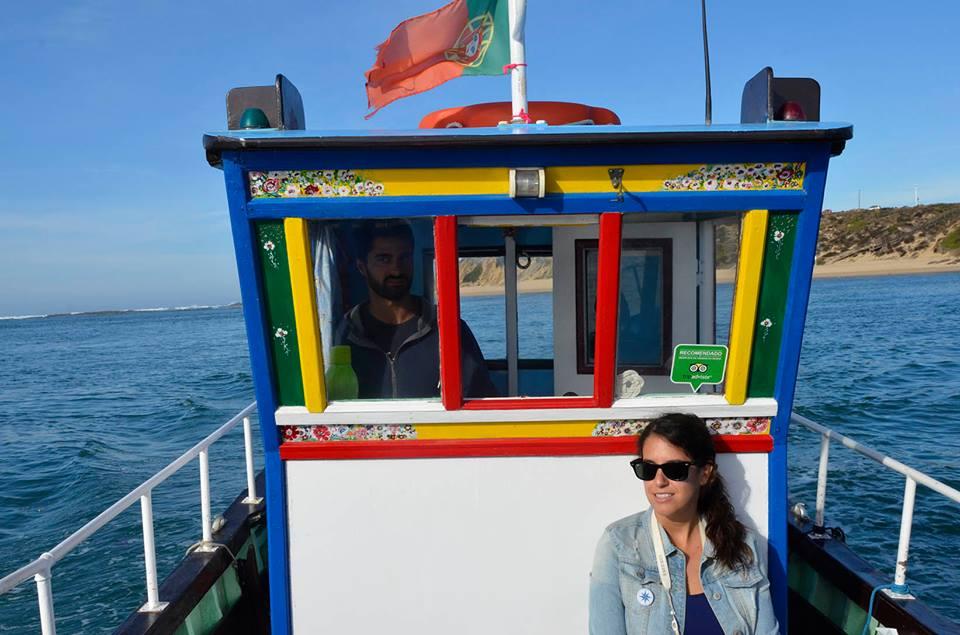 Paseo en barco por el río Mira