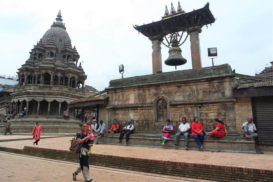 Plaza Durbar de Patán, valle de Katmandú