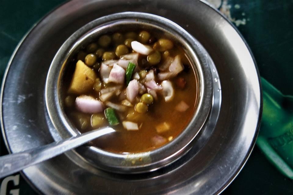 Sopa de verdura picante