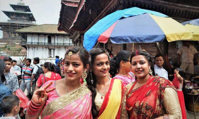 Teej, festival de las Mujeres en Katmandú