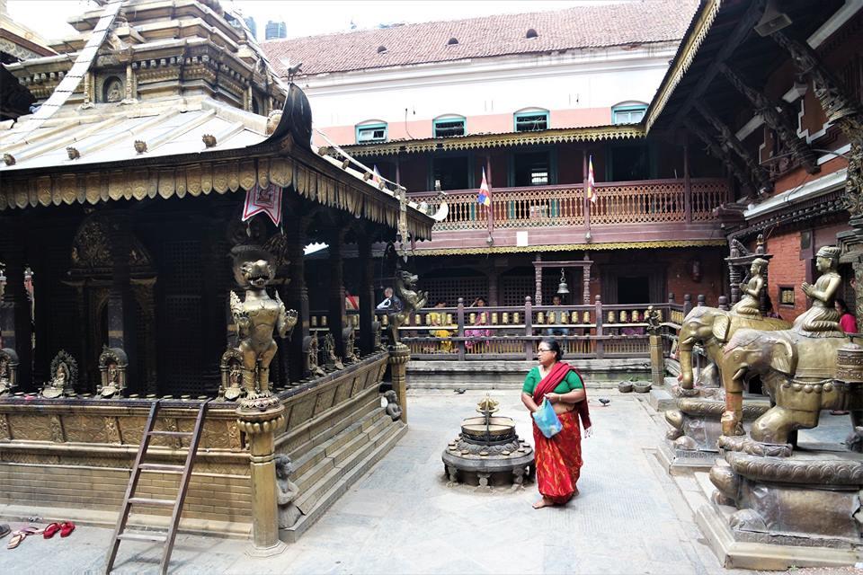 Templo Dorado, Patan