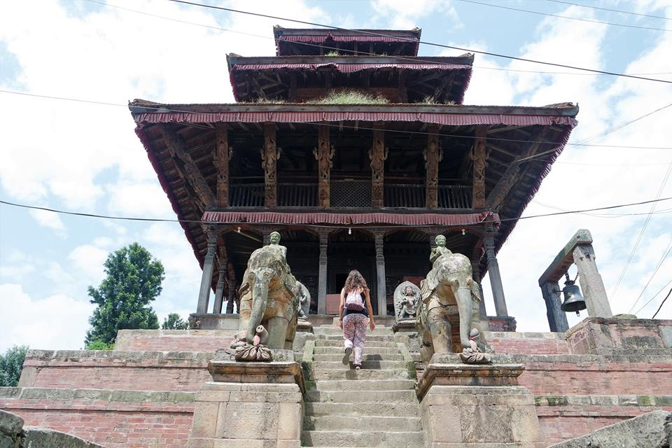 Templo hindú en Kirtipur