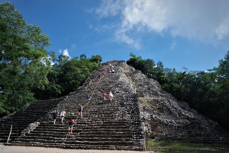 Gran Pirámide de Cobá, qué ver en Riviera Maya