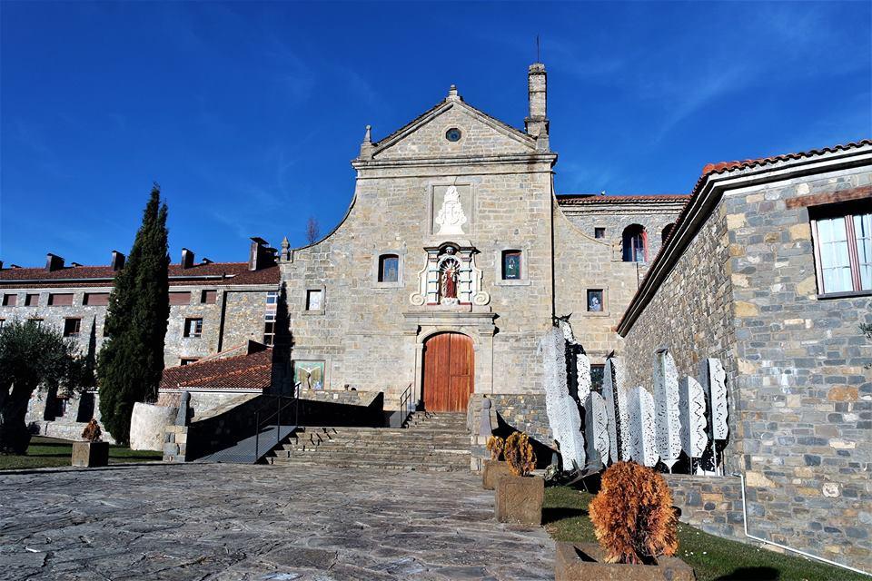 Iglesia del hotel monasterio de Boltaña
