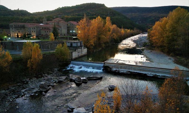 Monasterio de Boltaña, hotel spa en el Pirineo