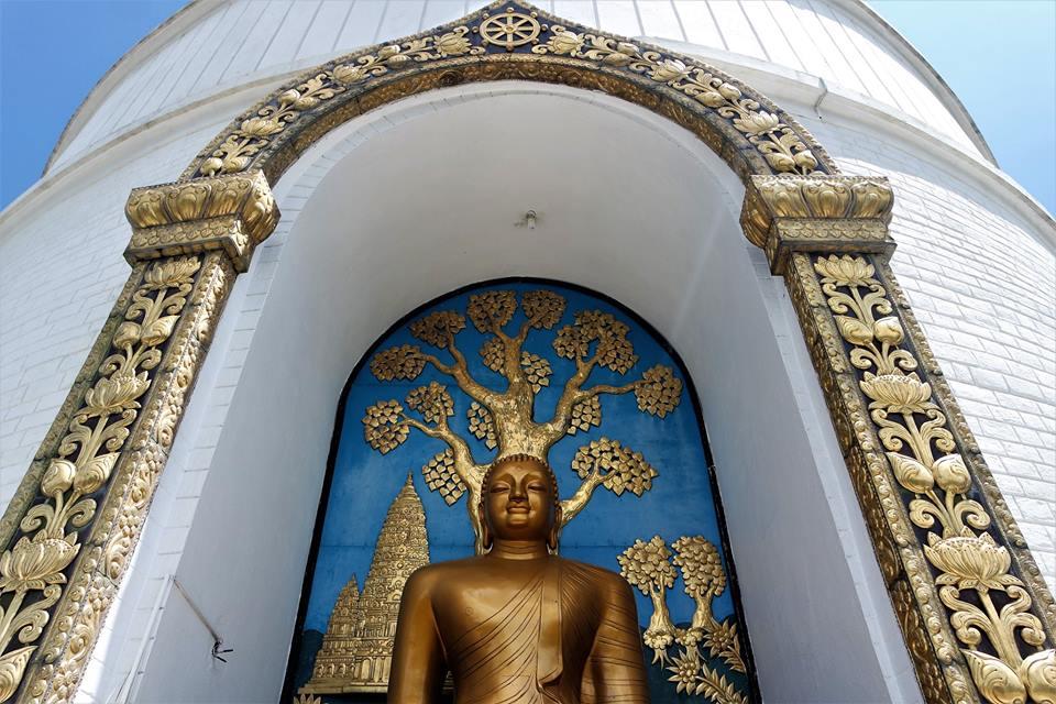 Buda, Pagoda de la Paz. Qué ver en Pokhara