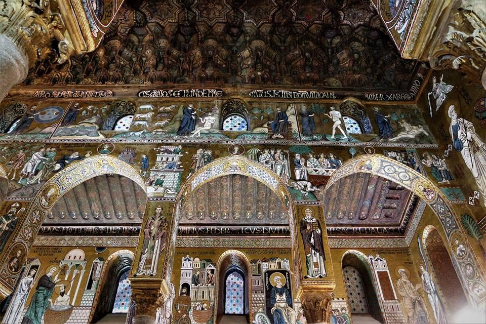 Capilla Palatina, Palacio de los Normandos