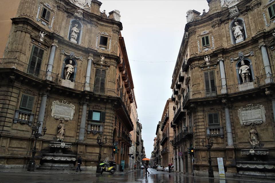 Cuatro Cantos, Palermo