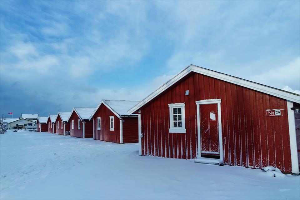 Cabañas de Svolvaer, alojamiento en las islas Lofoten