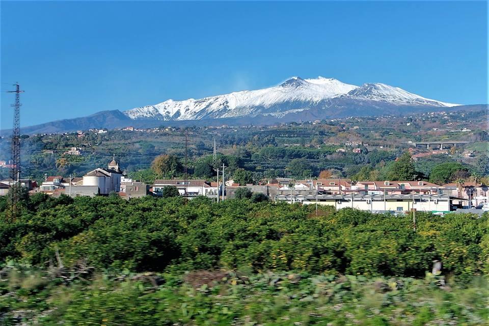 El Etna en tren, Sicilia
