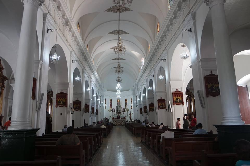 Interior de la Catedral de Cali