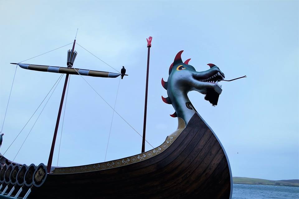 Drakkar vikingo,