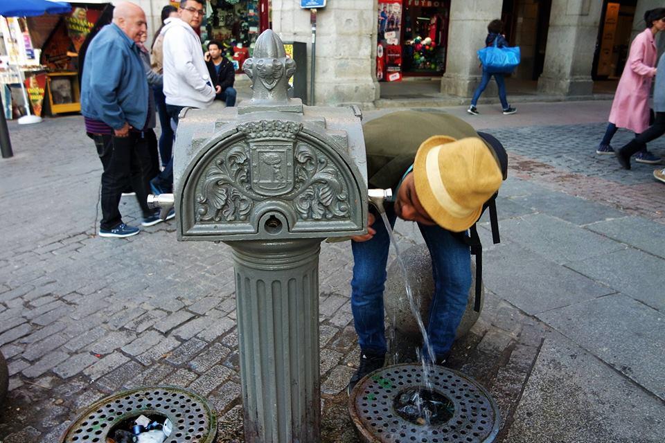 Fuente de la plaza Mayor, Madrid