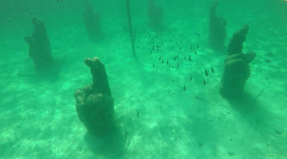 Museo submarino, Isla Mujeres