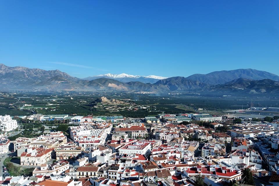 Sierra Nevada desde Salobreña